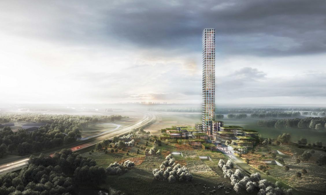 L'edificio sorgerà a Brande, un paesino di 7.000 abitati nello Jutland, in Danimarca / Dorte Mandrup