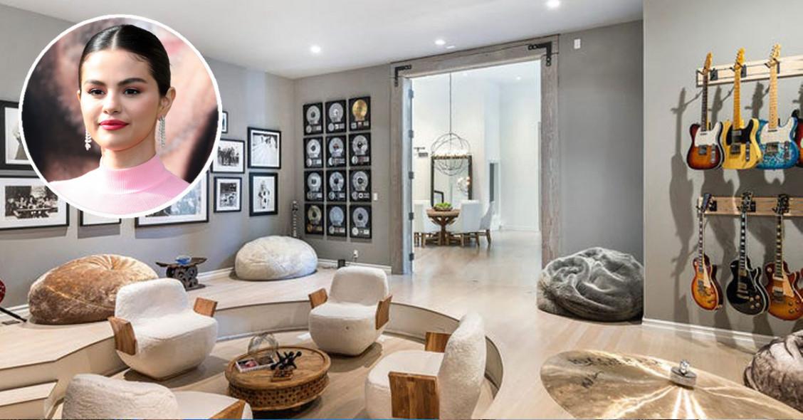 La nuova casa di Selena Gomez