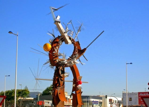 Monumento ai poesti (Murcia, Spagna)