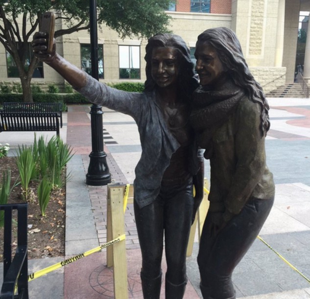 Un selfie? (Sugar Land, Stati Uniti)