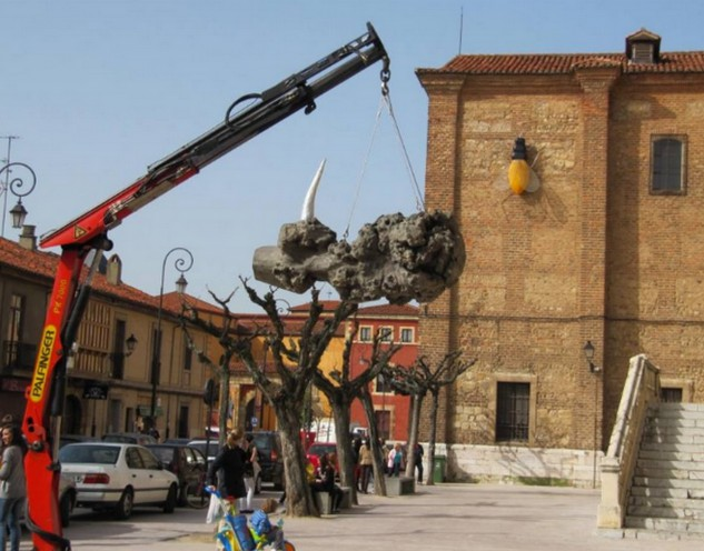 L'unicorno, la gru e la mosca (Leon, Spagna)