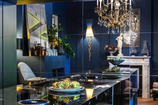 Cucina con salone, Virgina Albuja