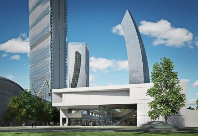 Il centro commerciale coprirà una superficie di 32.000 metri quadri / Shopping District Citylife