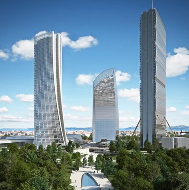 A progettarlo lo Studio di Zaha Hadid / Shopping District Citylife