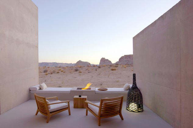 L'Amangiri si trova nel deserto dello Utah / Amangiri Resort