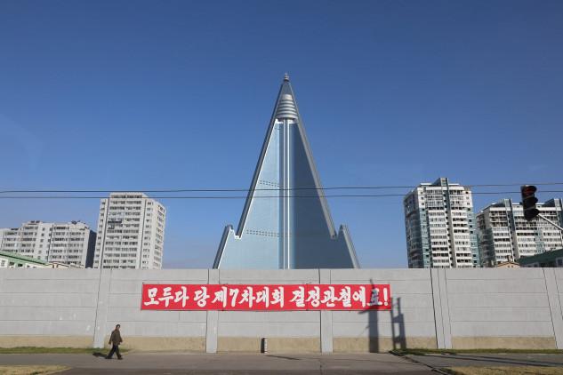 Hotel Ryugyong (Corea del Nord), 500 milioni di euro