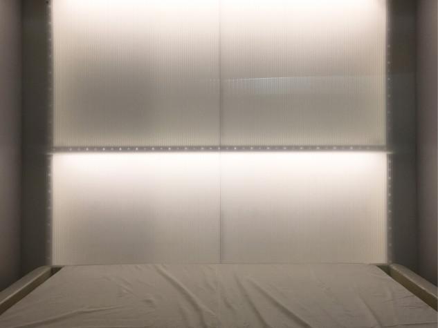 Sarà possibile anche dormire nella casa / Andrea Sala
