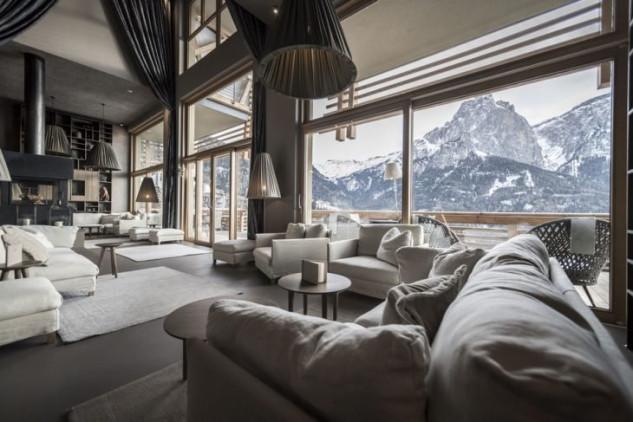 Salone nelle Dolomiti