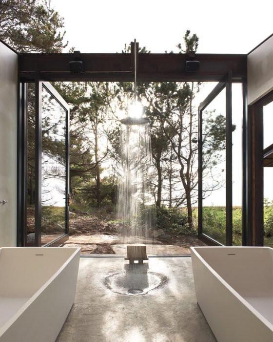 Spettacolare doccia a Washington