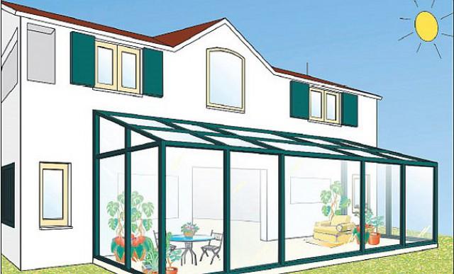 Ampliamento casa con veranda good elogio della veranda for Casa ranch con veranda