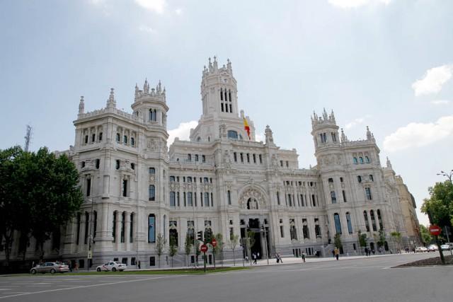la sede del comune di madrid