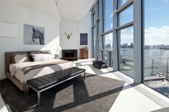 Una Camera Da Letto Da Sogno : Case da sogno a º su new york in mq di attico design