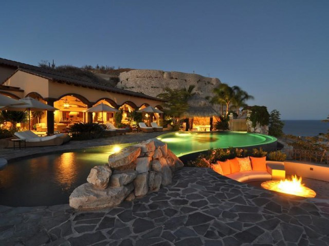 Casa da sogno villa nel deserto messicano con vista sull oceano