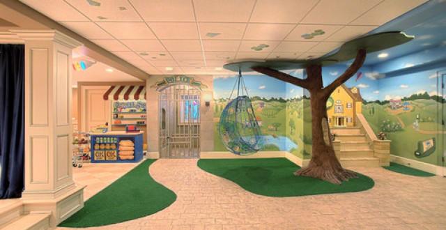 Idee Per Decorare La Camera : Idee per decorare la stanza dei giochi fotogallery