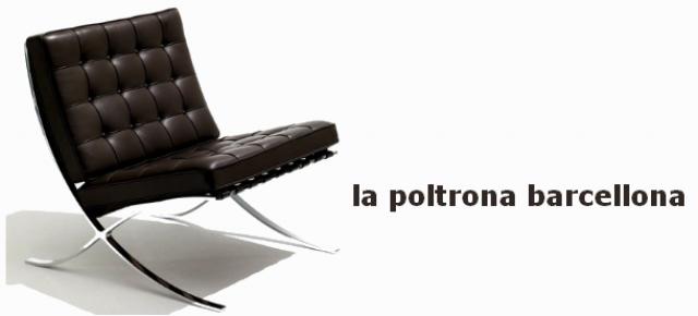 La poltrona barcellona: un classico del design per ogni soggiorno ...