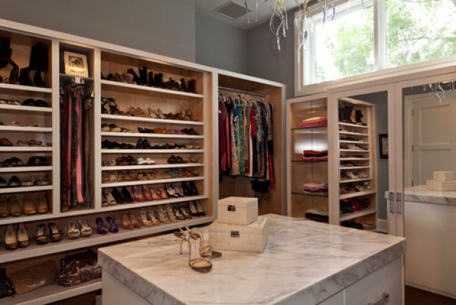 Idee Per Organizzare La Cabina Armadio : 12 idee per decorare una cabina armadio da sogno fotogallery