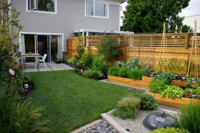 Case Piccole Con Giardino : Idee per decorare un giardino di piccole dimensioni