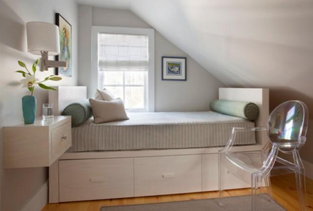 Idee Per Decorare La Camera : Idee di decorazione per chi ha una camera da letto di piccole