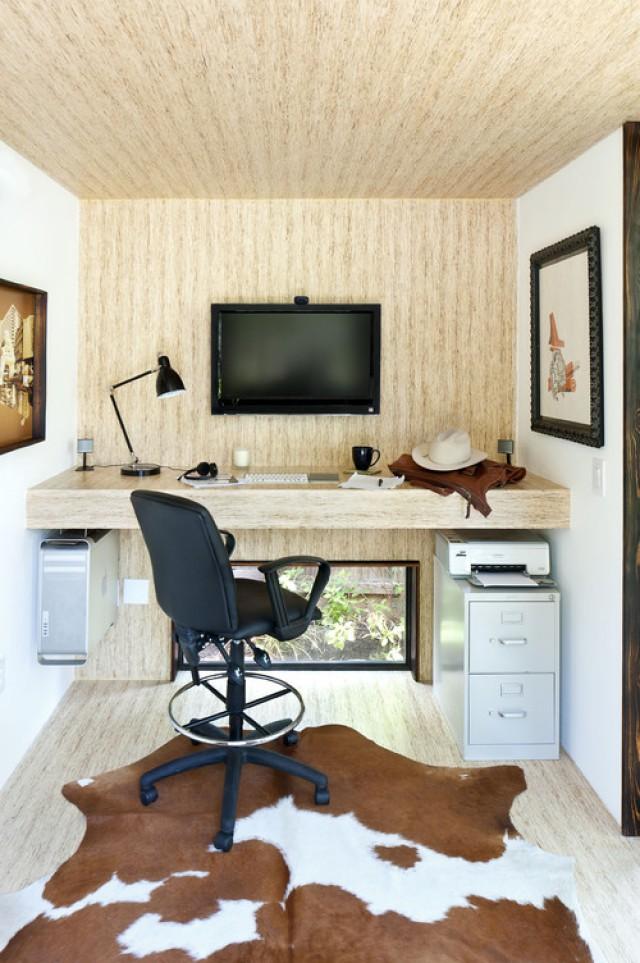 10 idee per arredare il tuo studio (fotogallery) ? idealista/news - Idee Angolo Studio In Soggiorno 2