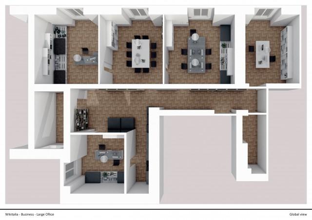 Piccolo Ufficio Moderno : 20 modi per cambiare volto ad un ufficio e trasformarlo in uno