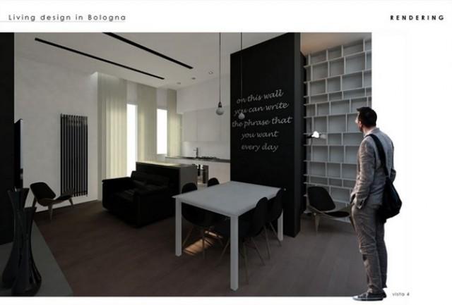 soluzioni per trasformare un soggiorno in un ambiente creativo, Disegni interni