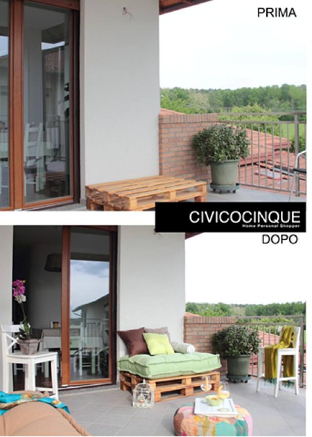 Come trasformare il balcone, la terrazza o il giardino in quello ...