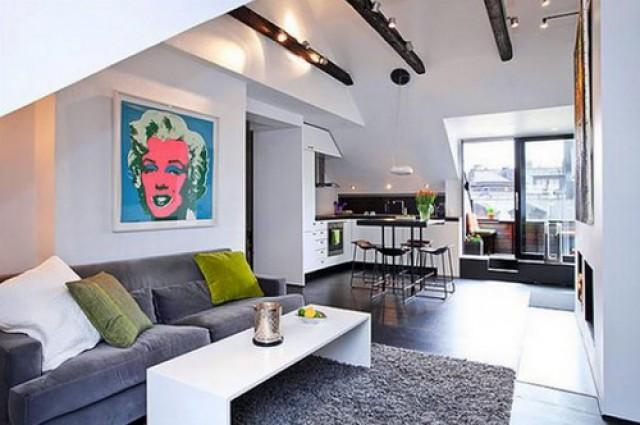 Delightful 12 Soluzioni Per Arredare Un Piccolo Appartamento E Guadagnare Spazio (foto)