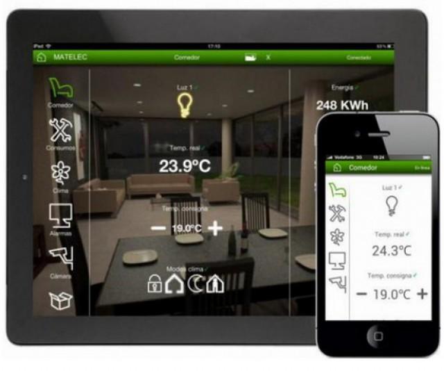 controllare luci casa con iphone