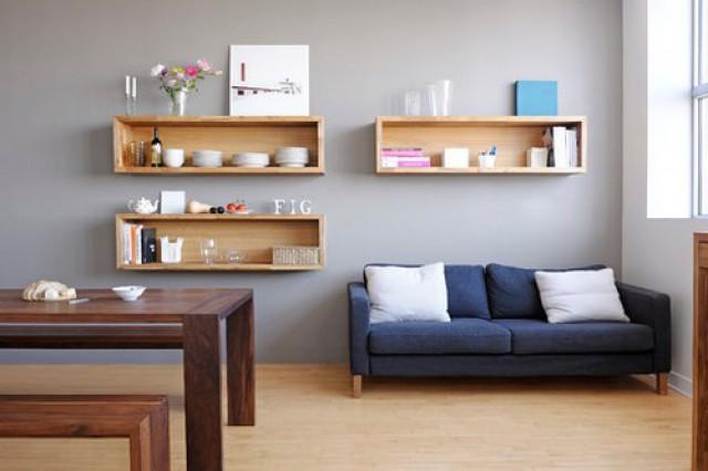 Mensole a muro per arredare la casa e guadagnare spazio