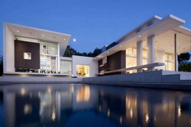 Design Di Interni Ed Esterni : In florida una villa di design che combina alla perfezione