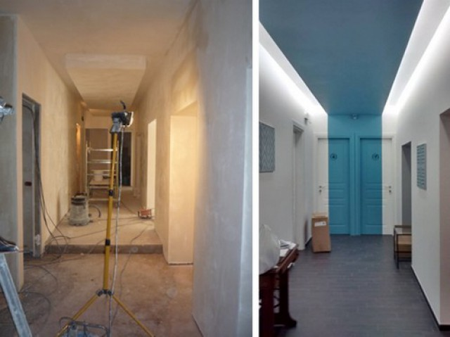 Corridoio Lungo Stretto : Il potere del colore: come valorizzare un ambiente al minimo costo