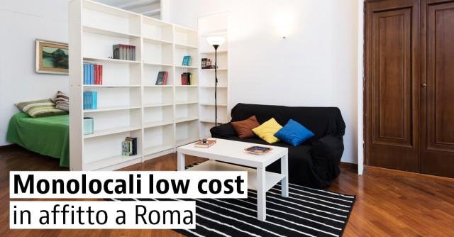 Monolocali economici a Roma