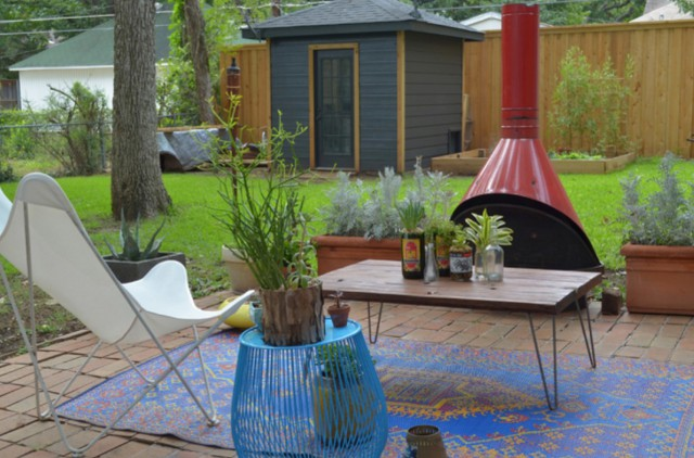 Idee Per Arredare Il Patio : Ecco alcune curiose idee per arredare il cortile di casa