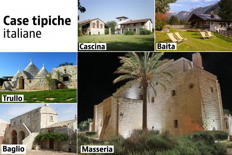 Case tipiche italiane
