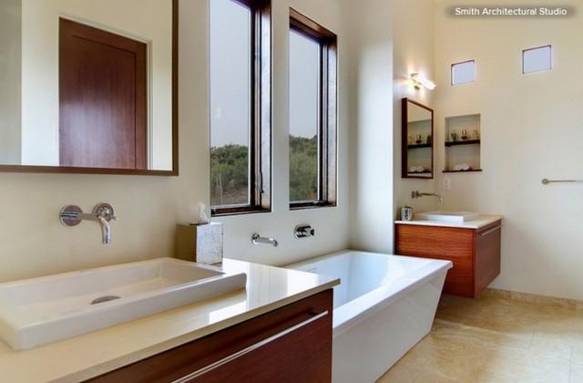 Qualche interessante idea per arredare un bagno moderno ...