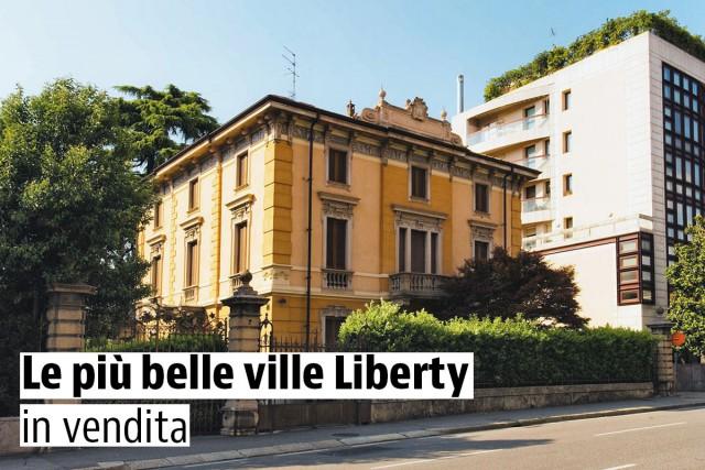 Le più belle ville Liberty in vendita — idealista/news