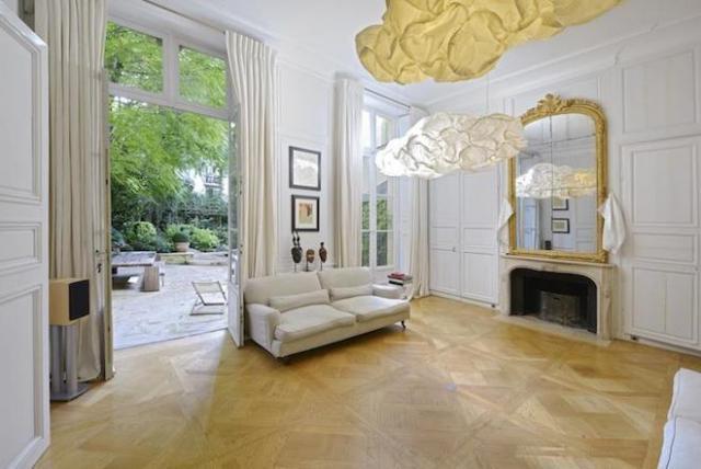 Interni Moderni Ville : Una spettacolare villa parigina del xviii secolo con interni moderni