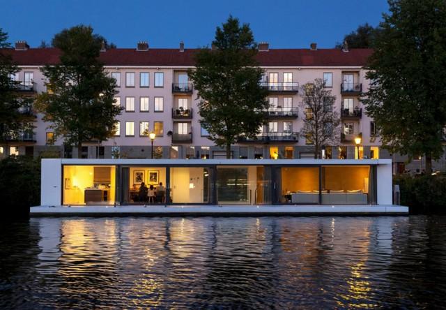 La casa galleggiante ad Amsterdam