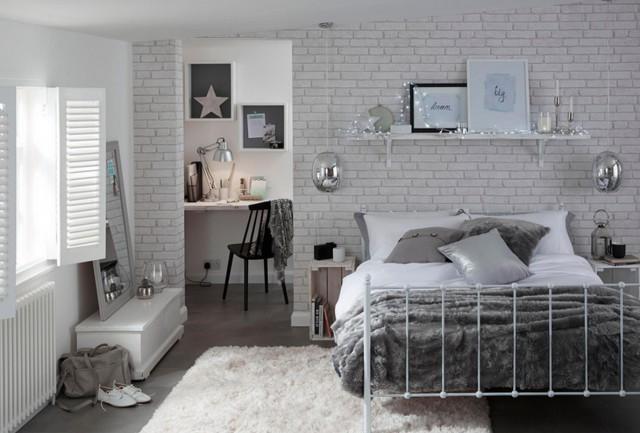 Camera Da Letto Legno Bianco : Come usare il colore bianco e il legno per arredare la tua casa in