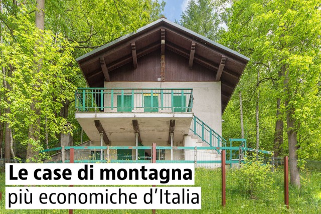 Case di montagna in legno arredo casa montagna case di for Compro casa milano