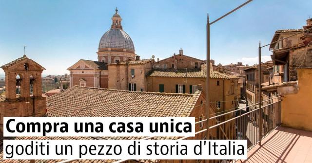 Compra una casa unica: goditi un pezzo di storia d'Italia