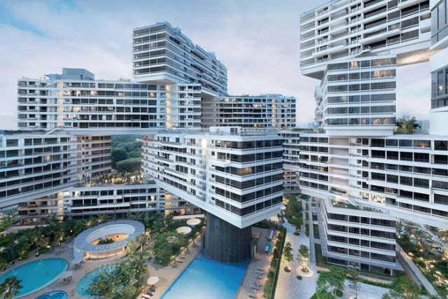 The Interlace, il villaggio verticale di Singapore