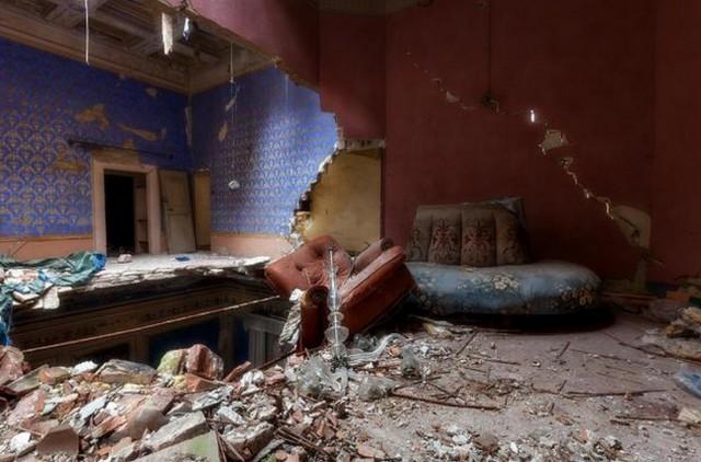 Una delle foto di case abbandonate in Italia
