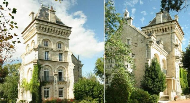 Bagno Degli Ospiti In Francese : Un palazzo francese con una torre spettacolare per vivere in una