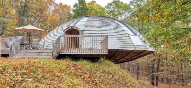 La casa a forma di disco volante