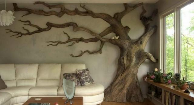 Come Avere Una Casa Selvaggia Grazie Agli Alberi Secchi Da Interni