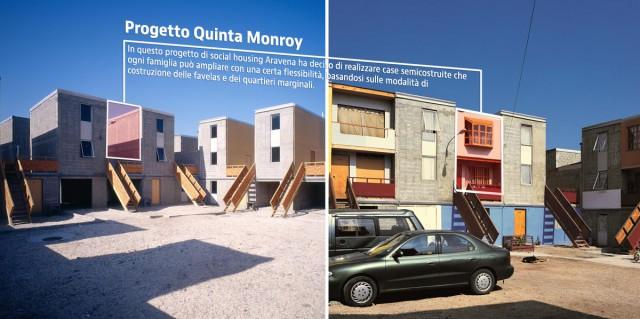 Case progettate dall'architetto cileno Alejandro Aravena