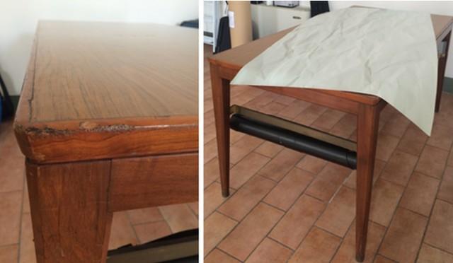 Idee per recuperare vecchi mobili cool trasforma il vecchio mobile con righe dcor with idee per - Idee per recuperare vecchi mobili ...