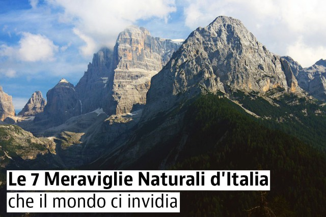 Le Meraviglie Naturali d'Italia che il mondo ci invidia