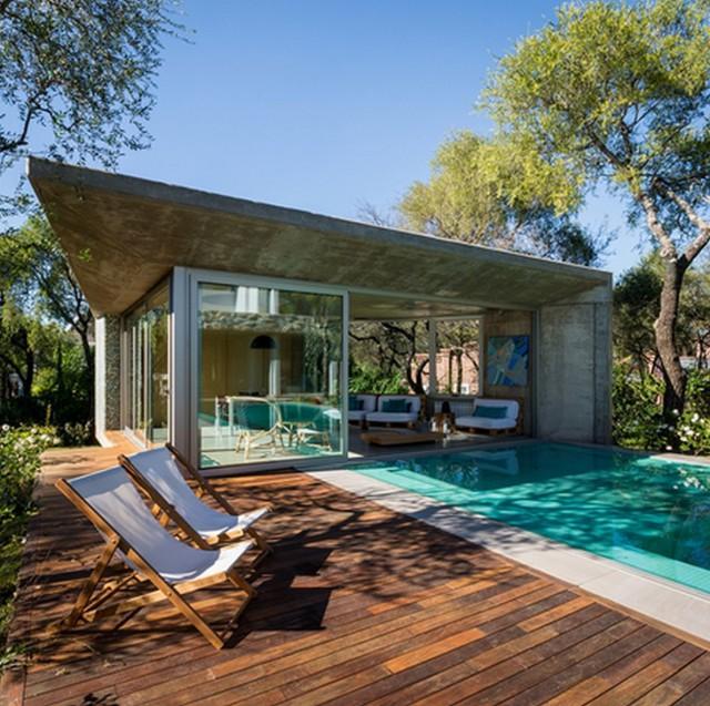 Una Villa Di Design Con Il Salone A Un Passo Dalla Spettacolare